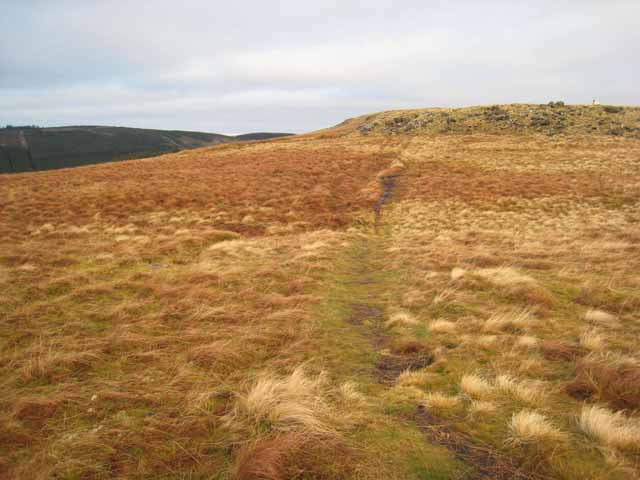 Houx Hill on the Pennine Way