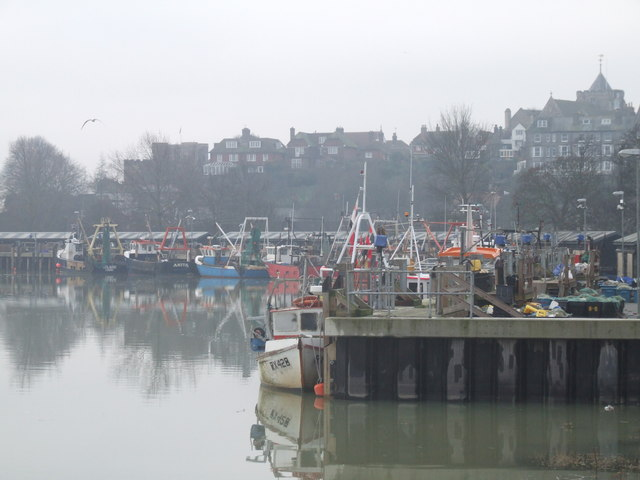 Fish Market Quay, Rye, East Sussex