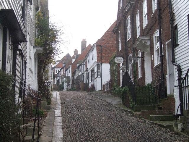 Mermaid Street, Rye, East Sussex