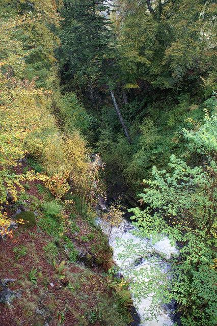 Gorge at Corriemulzie