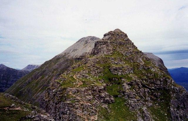 Pinnacles of Am Fasarinen and Spidean a Choire Leith