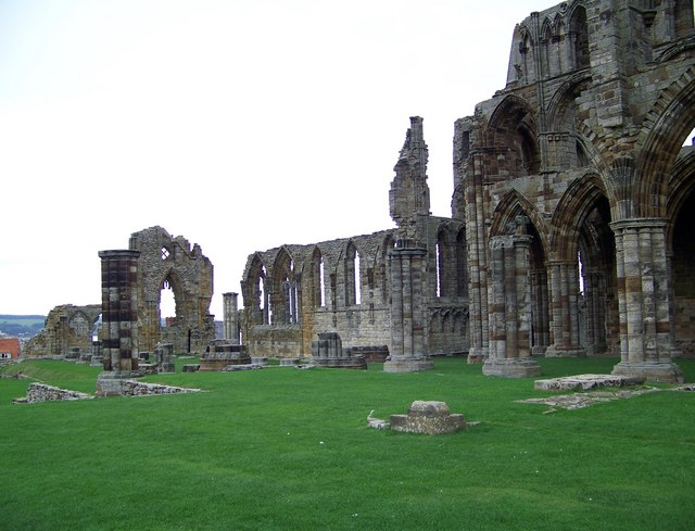 Ruins at Whitby Abbey