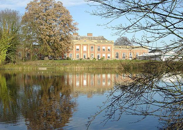 Colwick Hall across the Hall Lake