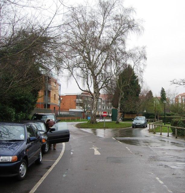 Mill Meadows car park entrance