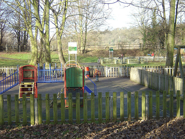 Play area in Colwick Country Park