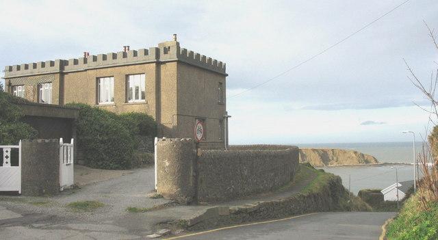 Castell Pentraeth - a charming clifftop house