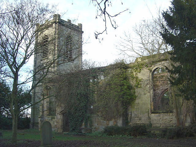 Former church of St John the Baptist, Colwick