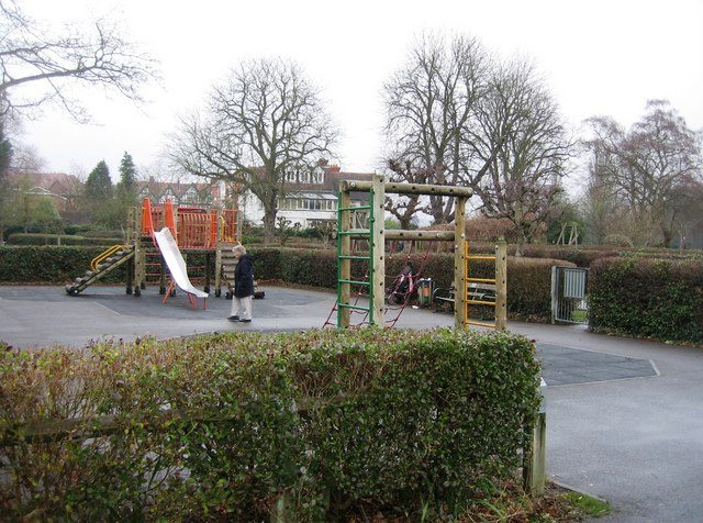 Children's Playground on Mill Meadows