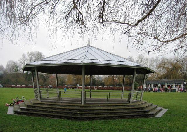 Mill Meadows bandstand