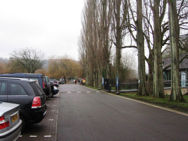 Car park in front of the Rowing museum