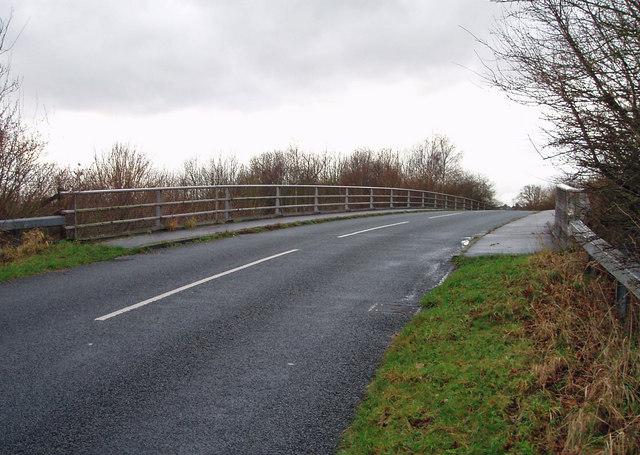 Bridge Over the A55