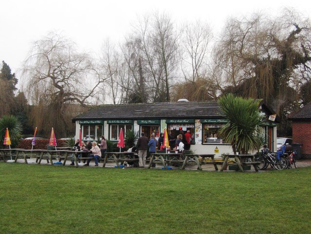 Henley Piazza on New Years Day