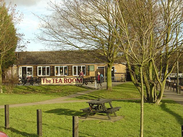 The TEA ROOM at Gunthorpe lock