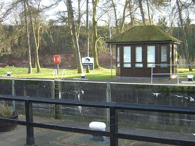 Gunthorpe Lock control room