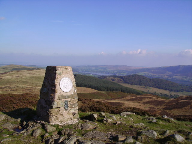 Trig Pillar, Gowbarrow Fell