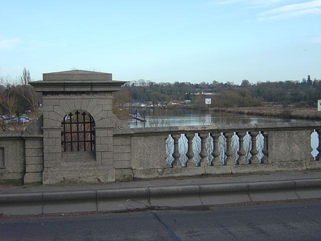 The River Trent from Gunthorpe Bridge
