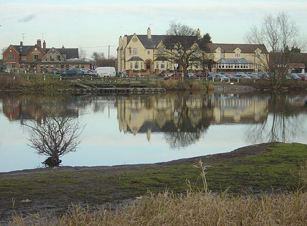 River Trent at Gunthorpe