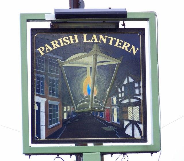 Sign for the Parish Lantern, Whiteparish