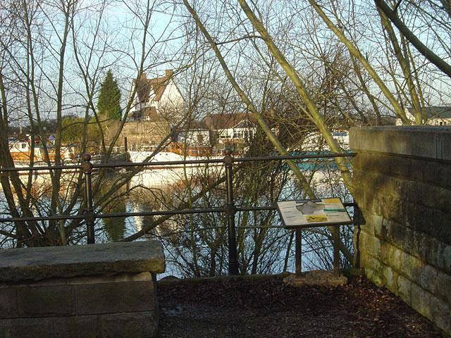 The old Gunthorpe Toll bridge