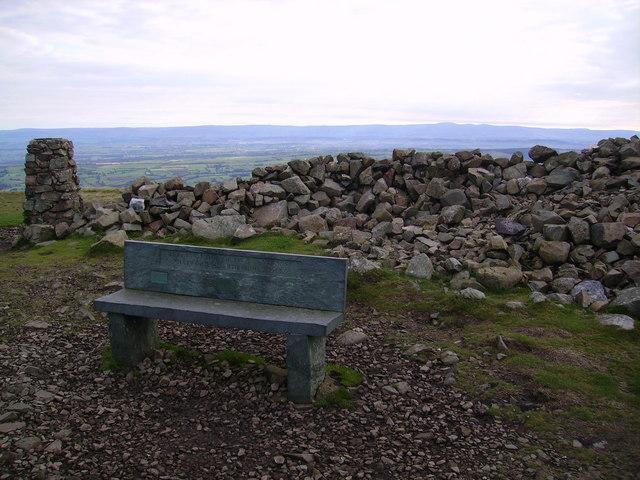 Memorial Seat, High Pike