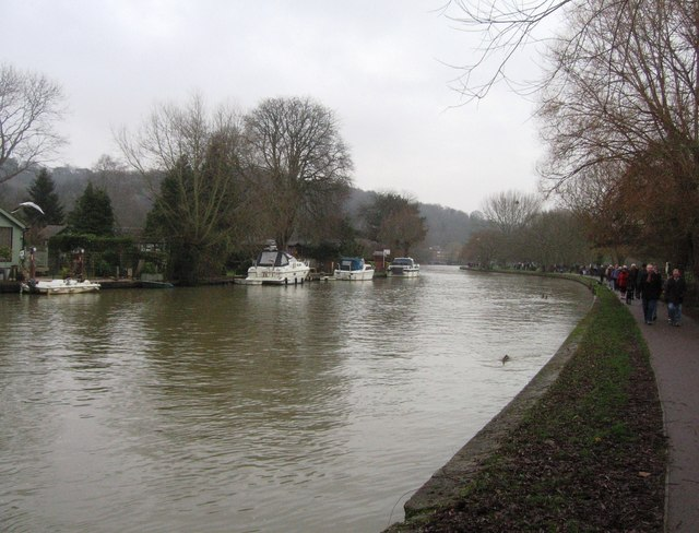 Thames on New Years Day
