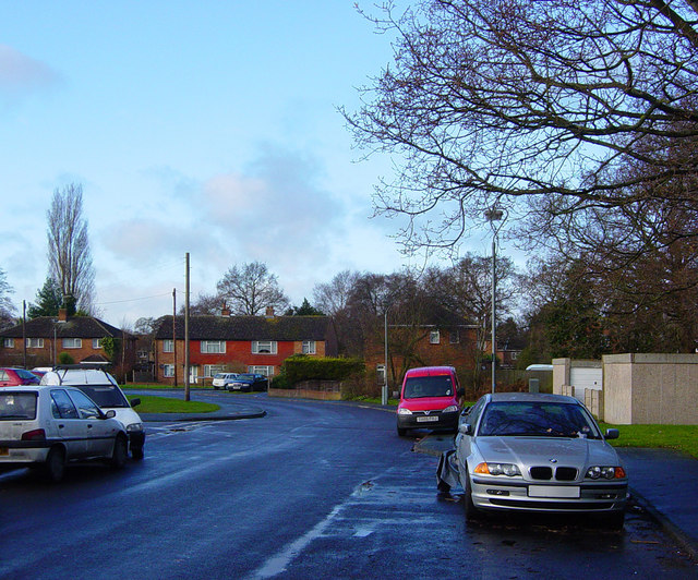 Junction of Bain Avenue and Westfield Road