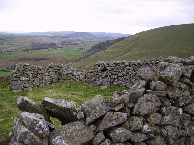 Sheepfold Carrock Fell