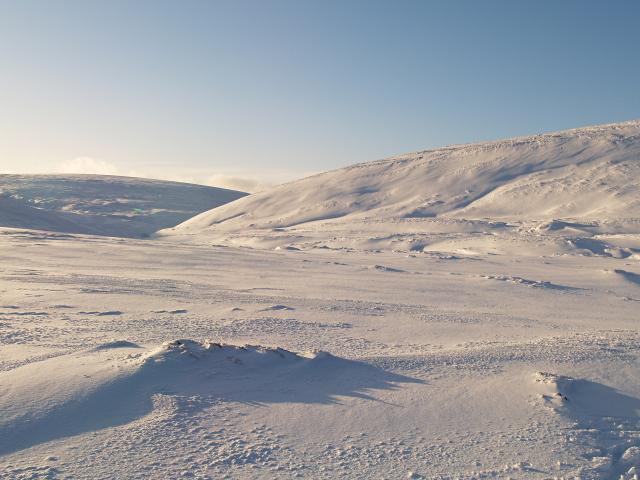 Cairngorm snow scene