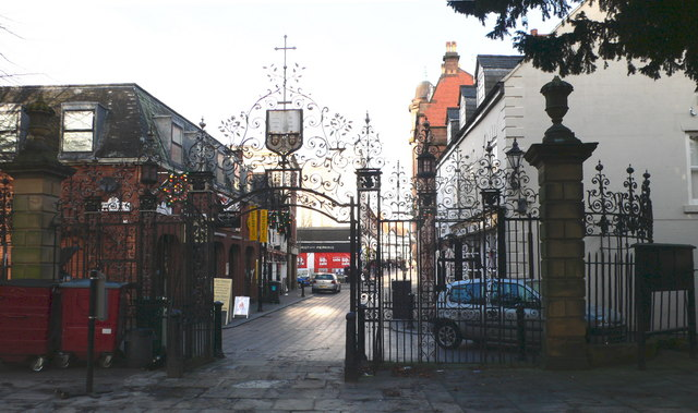 Church Gates, St Giles Parish Church, Wrexham