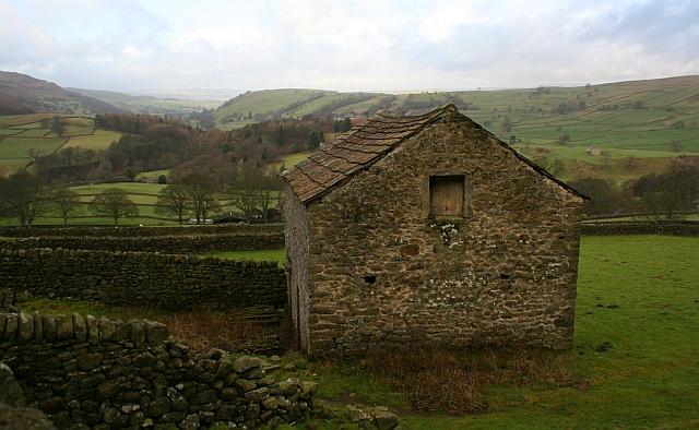 Barn Above Howgill