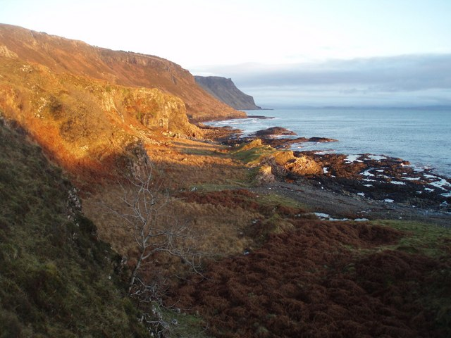 Last  Sun of the Year, Ross of Mull
