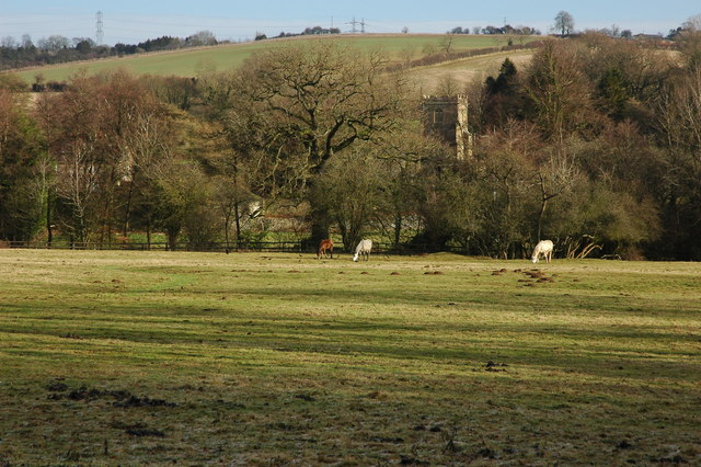 Field near Coberley church