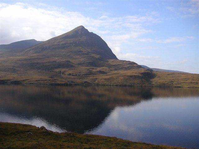 Sgòrr Tuath from the Achiltibuie road