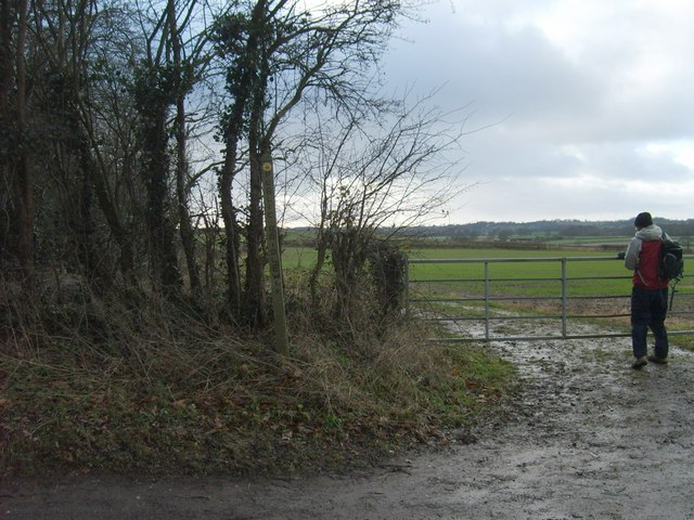 Gate to Staffordshire Way