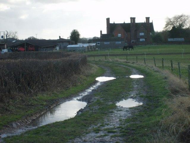 Path to Mere Farm