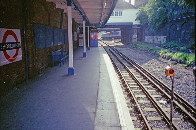 Shoreditch Station in 1991