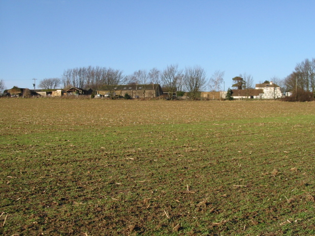 Eastling Down Farm from the Sandwich Road