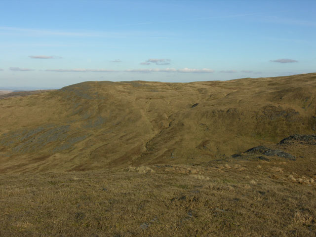 View northeast from Pumlumon Fach