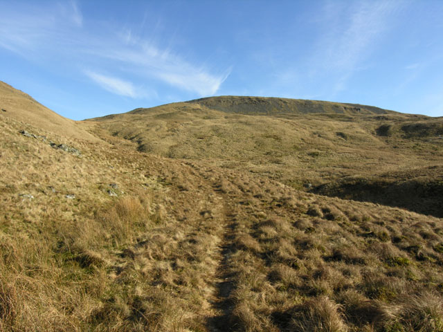 Western approach to Pumlumon Fawr