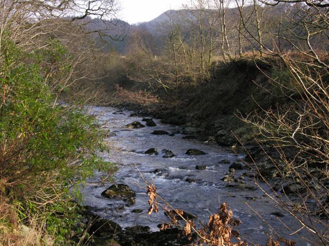 The Afon Ystwyth
