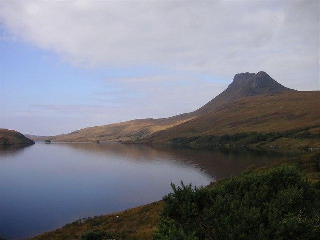 Stac Pollaidh and Loch Lurgainn