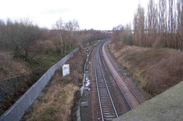 Railway Line from Bridge MDL1/43 - Gelderd Road
