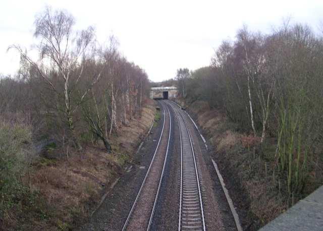 Railway Line from Bridge MDL1/43 - Gelderd Road