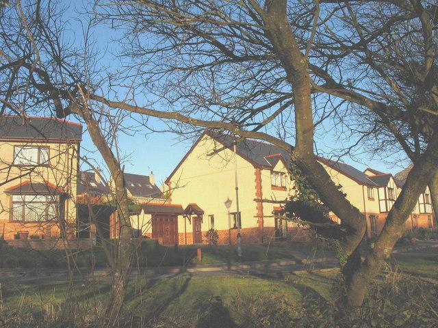 Bro Gwylwyr - a modern housing estate