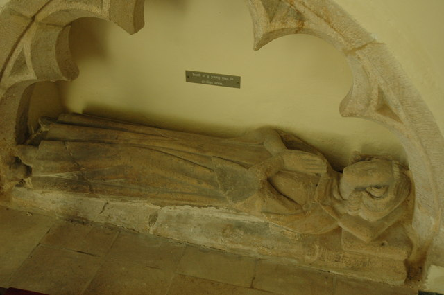 Tomb in Coberley Church