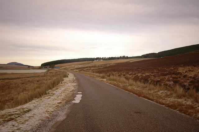 A897 and Kinbrace Farm
