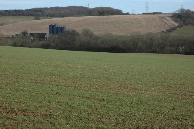 Farmland near Coberley