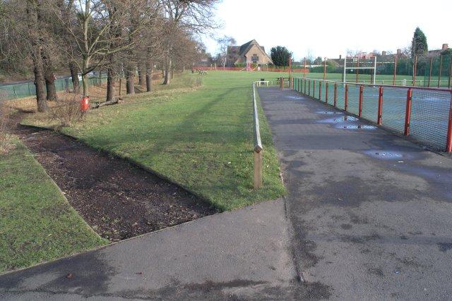 Lenton Abbey Park, Nottingham