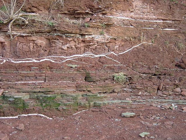 Gunthorpe formation - split beds