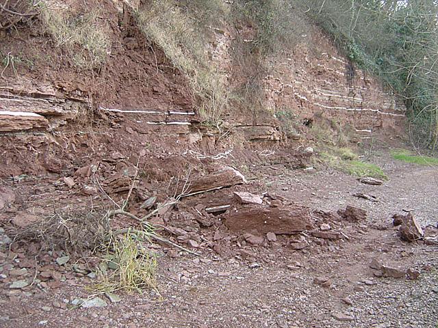 Gunthorpe formation - erosion